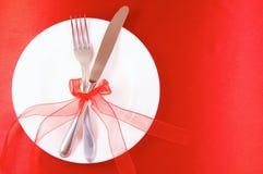 γεύμα ρομαντικό στοκ εικόνα με δικαίωμα ελεύθερης χρήσης