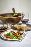 Γεύμα σαλάτας Στοκ φωτογραφίες με δικαίωμα ελεύθερης χρήσης