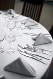 Γεύμα σε ένα εστιατόριο Στοκ εικόνες με δικαίωμα ελεύθερης χρήσης