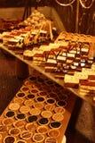 γεύμα σοκολάτας γαστρονομικό Στοκ Εικόνα