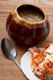 γεύμα σπιτικό Στοκ φωτογραφίες με δικαίωμα ελεύθερης χρήσης