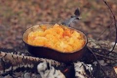 Γεύμα στον πάσσαλο Στοκ φωτογραφία με δικαίωμα ελεύθερης χρήσης