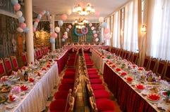 γεύμα συμποσίου μεγάλο Στοκ Φωτογραφίες