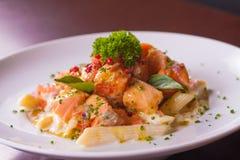 Γεύμα του σολομού Ceviche Στοκ εικόνες με δικαίωμα ελεύθερης χρήσης