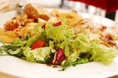 γεύμα υγιές στοκ εικόνα