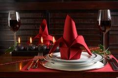 γεύμα Χριστουγέννων Στοκ εικόνα με δικαίωμα ελεύθερης χρήσης