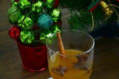Γεύμα Χριστουγέννων Στοκ Φωτογραφία