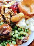 Γεύμα ψητού Στοκ φωτογραφία με δικαίωμα ελεύθερης χρήσης