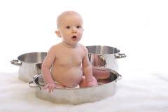 γεύμα 2 μωρών Στοκ φωτογραφία με δικαίωμα ελεύθερης χρήσης