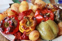 γεύμα mediterranian Στοκ Φωτογραφία