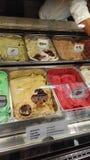 Γεύσεις του παγωτού στοκ φωτογραφία με δικαίωμα ελεύθερης χρήσης