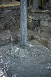 Γεώτρηση πετρελαίου με τη λάσπη Στοκ φωτογραφίες με δικαίωμα ελεύθερης χρήσης