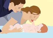 Γελάστε ένα μωρό Στοκ φωτογραφίες με δικαίωμα ελεύθερης χρήσης