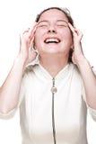 γελώντας νεολαίες κορ&io Στοκ φωτογραφίες με δικαίωμα ελεύθερης χρήσης