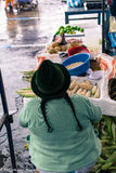 Γηγενής αγορά Otovalo Στοκ φωτογραφίες με δικαίωμα ελεύθερης χρήσης