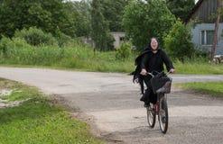 Γηραιή κυρία θρησκείας Στοκ Φωτογραφίες