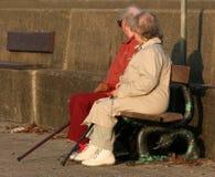 γηρατειά από κοινού Στοκ Εικόνα