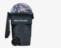 γη ανακύκλωσης Στοκ φωτογραφία με δικαίωμα ελεύθερης χρήσης