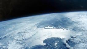 Γη από διαστημικό HD απόθεμα βίντεο