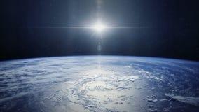 Γη από διαστημικό HD διανυσματική απεικόνιση