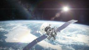 Γη από την τροχιά με δορυφορικό HD φιλμ μικρού μήκους