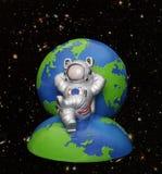 γη αστροναυτών Στοκ Εικόνες