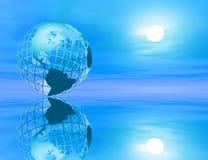 γη ειρηνική ελεύθερη απεικόνιση δικαιώματος