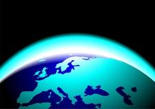 γη ομορφιάς γραφική διανυσματική απεικόνιση