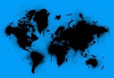 γη που λεκιάζουν Στοκ εικόνα με δικαίωμα ελεύθερης χρήσης