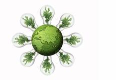 γη πράσινη Στοκ εικόνα με δικαίωμα ελεύθερης χρήσης