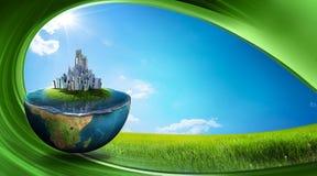 γη πράσινη ελεύθερη απεικόνιση δικαιώματος