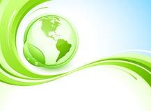 γη πράσινη Στοκ φωτογραφία με δικαίωμα ελεύθερης χρήσης