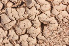 Γη ρωγμών ξηρά Στοκ Εικόνα