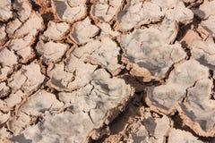 Γη ρωγμών ξηρά Στοκ εικόνα με δικαίωμα ελεύθερης χρήσης
