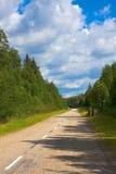 γη του βορρά τοπίων χωρών Στοκ εικόνα με δικαίωμα ελεύθερης χρήσης