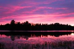 γη του βορρά τοπίων χωρών Στοκ φωτογραφία με δικαίωμα ελεύθερης χρήσης