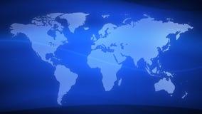 Γη 2 του //1080p αφηρημένος βρόχος υποβάθρου ειδήσεων τηλεοπτικός διανυσματική απεικόνιση