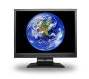 γη LCD Στοκ Εικόνες