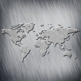 Γη Map Στοκ Φωτογραφίες