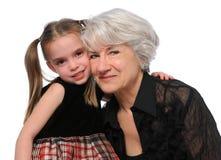 γιαγιά εγγονών Στοκ φωτογραφία με δικαίωμα ελεύθερης χρήσης