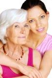 γιαγιά εγγονών Στοκ εικόνες με δικαίωμα ελεύθερης χρήσης