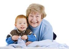γιαγιά ευτυχής στοκ φωτογραφία με δικαίωμα ελεύθερης χρήσης