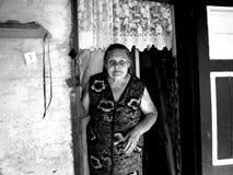 Γιαγιά της Μολδαβίας Στοκ εικόνα με δικαίωμα ελεύθερης χρήσης
