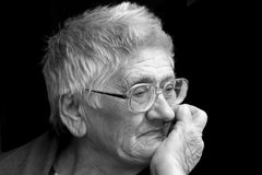 γιαγιά Στοκ Φωτογραφίες
