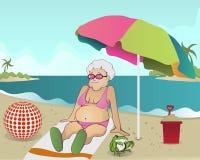 γιαγιά ελεύθερη απεικόνιση δικαιώματος