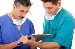 γιατροί δύο Στοκ εικόνα με δικαίωμα ελεύθερης χρήσης