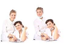 γιατροί δύο Στοκ φωτογραφία με δικαίωμα ελεύθερης χρήσης