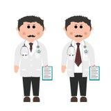 Γιατροί και νοσοκόμες απεικόνιση αποθεμάτων