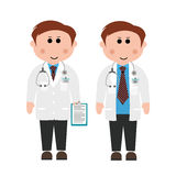 Γιατροί και νοσοκόμες διανυσματική απεικόνιση