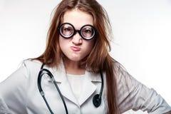 γιατρός αστείος Στοκ Εικόνα